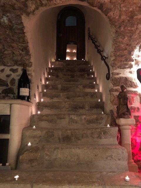 3 escalier de la Cave Du Clos